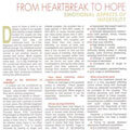 Article in 'Women's Era' magazine by Dr. KD Nayar
