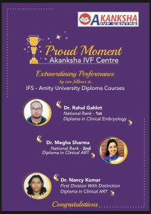 Proud Moment Akanksha IVF Centre