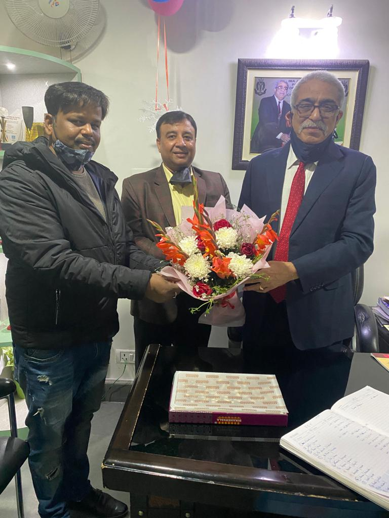 New Year Wishes Dr. K. D. Nayar