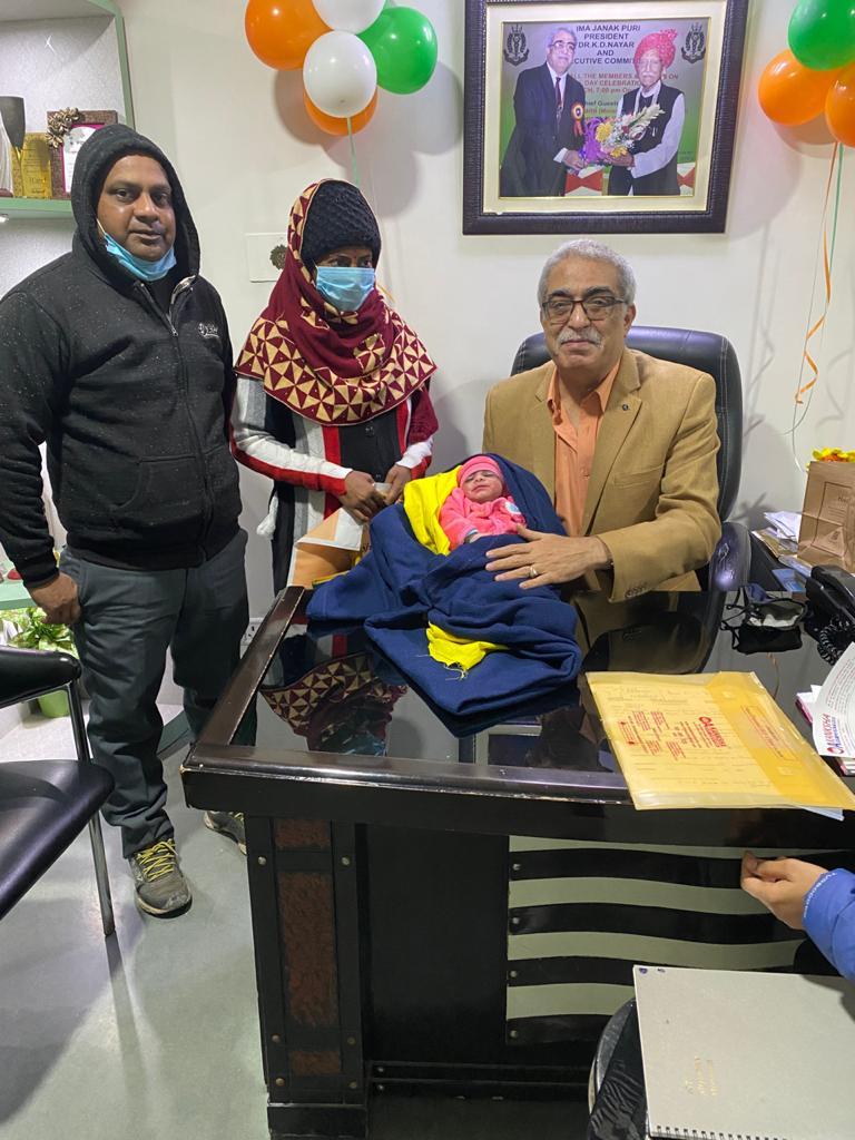 Kanchan Ranjan Born, Dr. K. D. Nayar